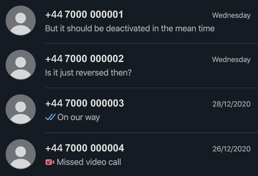 Chat whatsapp contacts gay Contatti WhatsApp